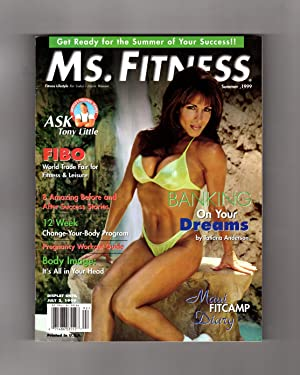 Ms. Fitness Magazine - Summer, 1999. Tatiana Anderson Cover. FIBO; Ask Tony Little; 12 Week Chang...