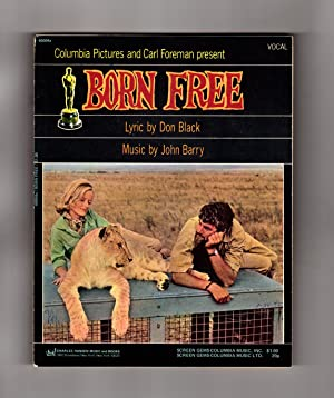 Born Free, Vintage 1966 Sheet Music (Charles Hansen Music, publisher variant cover), with Laid-in...