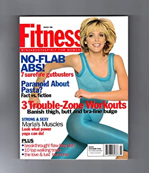 Fitness Magazine - March, 1996. Marla Maples Trump cover. Marla's Muscles, Pasta Paranoia, No-Fla...