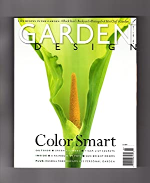 Garden Design Magazine - August - September,: Dorothy Kalins