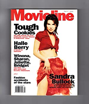 """Movieline Magazine - April, 1995. Fifth Annual Women in Hollywood Issue: """"Tough Cookies""""...."""