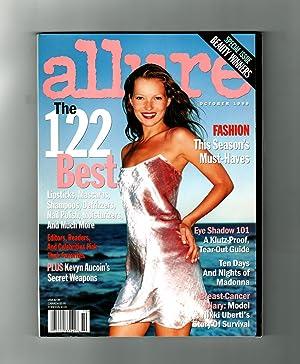 Allure Magazine - October, 1999. Kate Moss: Linda Wells (Editor