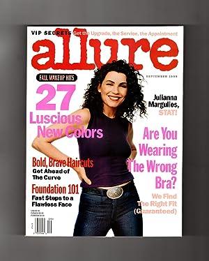 Allure Magazine - September, 1999. Julianna Margulies: Linda Wells (Editor