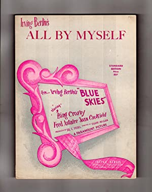 All By Myself - Vintage Irving Berlin Sheet Music, 1946 Arrangement