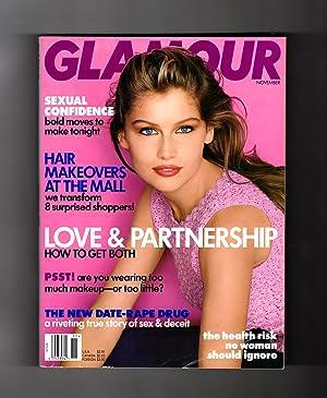 Glamour Magazine - November, 1997. Laetitia Casta: Ruth Whitney (Editor