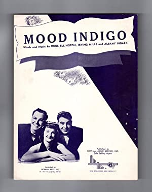 Mood Indigo - Vintage 1931 Sheet Music. Duke Ellington, Irving Mills, Albany (Barney) Bigard. Nor...