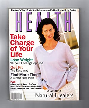 Health Magazine - January - February, 1999. Natural Healers; Cure for Timesickness; Food Lover's ...