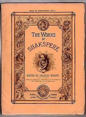 The Works of Shakspere (sic) Edited by: Shakspere (Shakespeare), William;