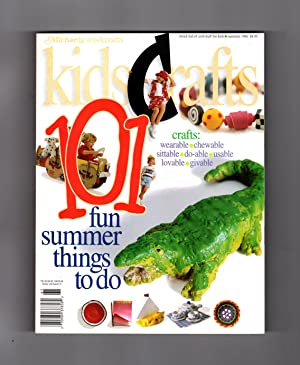 Kids Crafts 101 Magazine, Summer 1996, Volume 1, Number 1. A Special Edition of Michaels Arts & C...
