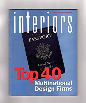 Interiors (Magazine) - October, 1997. Top 40 Multinational Design Firms.