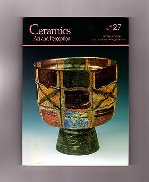 Ceramics: Art and Perception - 1997 Issue: Janet Mansfield (Editor)