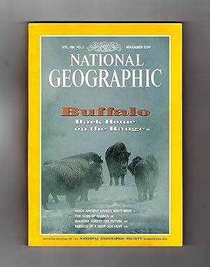 National Geographic Magazine / November, 1994. Buffalo: William Graves (Editor)