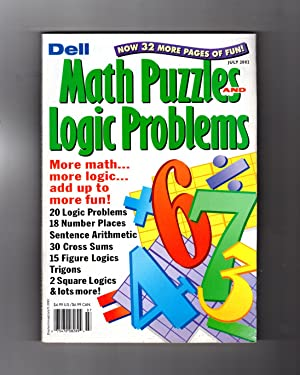 Dell Math Puzzles and Logic Problems -: Abby Meher Taylor