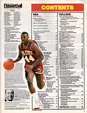 Dick Vitale's Basketball '87 - '88 (1987 - 1988). The Pro/College Annual For ...