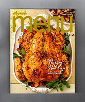 Wegmans MENU Magazine / Holiday, 2015 - Cuisine, Cookbook Recipes