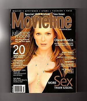 Movieline Magazine - February-March, 2002. 10th Annual: Juan Morales (Editorial