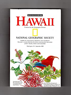 National Geographic Map & Supplement, 'Rediscovering Hawaii'. From the September, 1995 Issue