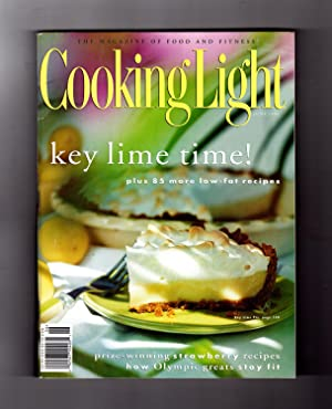 Cooking Light Magazine - June, 1996. 86 Recipes. Key Lime Pie, Prize-Winning Strawberry Recipes, ...