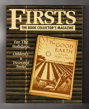 Firsts - The Book Collectors Magazine. December,: Kathryn Smiley (Editor)