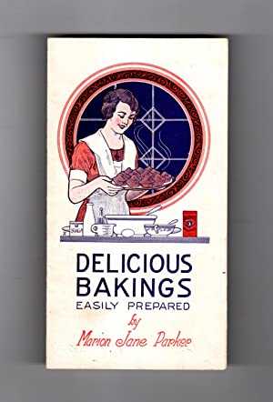 Delicious Bakings - Easily Prepared. 1923 Vintage Cook Book Ephemera (Calumet Baking Powder Co.)