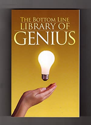 The Bottom Line Library of Genius. First Printing. Health & Medical Reference