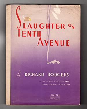 Slaughter on Tenth Avenue. Vintage Sheet Music, Complete Piano Solo, 1936. Richard Rodgers. From ...