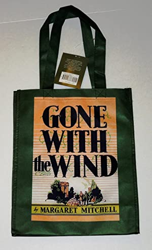 "Gone With the Wind' Book Classic Covers ""Green"" Recycled Tote Bag (12.25x6x15.5). ..."