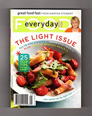 Everyday Food - January-February, 2010 - The Light Issue. Great Food Fast from Martha Stewart. Po...