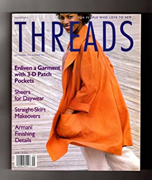 Taunton's Threads Magazine - September, 1999, No. 84. Sheers for Daywear; 3-D Patch Pockets; Stra...