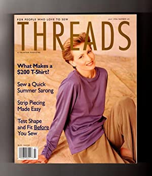 Taunton's Threads Magazine - July, 1996, No.: Christine Timmons (Editor)
