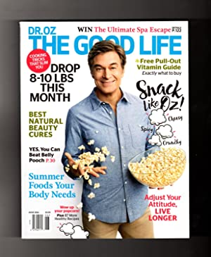 Dr. Oz The Good Life - June, 2016. With Pull-Out Vitamin Guide. Natural Beauty Cures; Drop 10 Pou...