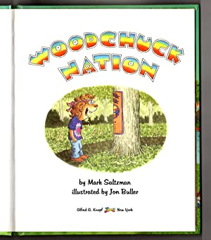 Woodchuck Nation - For a New Woodstock Generation. First Edition, First Printing. With Original ...