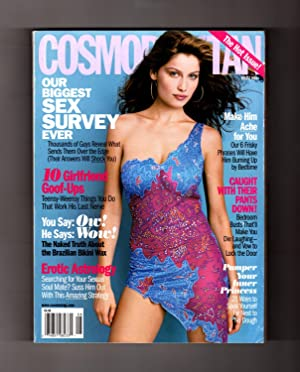Cosmopolitan - August, 2000. Laetitia Casta Cover.: Kate White (Editor