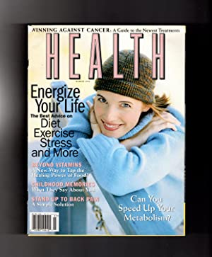 Health Magazine - March, 1998. Winning Against Cancer; Speed Up Your Metabolism; Energize You; Be...