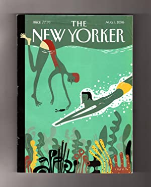 The New Yorker - August 1, 2016.: David Remnick (Editor)
