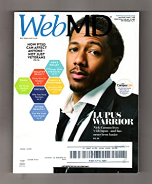 WebMD - July-August, 2016. Nick Cannon Cover. Lupus; Civilian PTSD; Anthony Rizzo Beats Cancer; E...