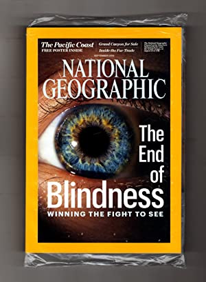 National Geographic Magazine - September, 2016. In original shipping bag. With Supplemental Map a...