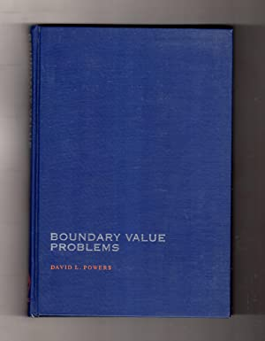 Boundary Value Problems. Frist Edition, First Printing. Differential Equations