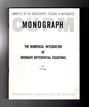 The Numerical Integration of Ordinary Differential Equations. C.U.P.M. Monograph