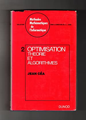 Optimisation Theorie et Algorithmes (Opitimization Theory and Algorithms)