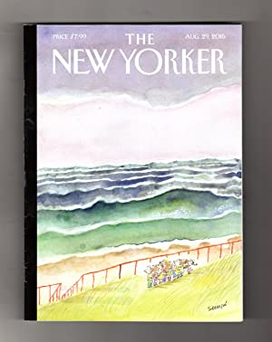 The New Yorker - August 29, 2016.: David Remnick (Editor)