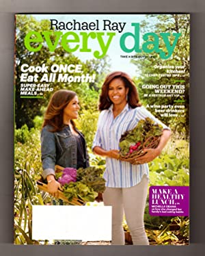 Rachael Ray - Every Day. September, 2016. Cook Once-Eat All Month; Be A Restaurant VIP; Wine Part...
