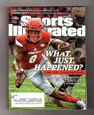Sports Illustrated - September 25, 2016. Lamar: Paul Fichtenbaum (Editor,