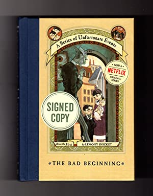 the bad beginning Like a car alarm, bagpipe music, or a doorbell ringing in the middle of the night,  hearing this all-new audio edition of the bad beginning will only upset you.