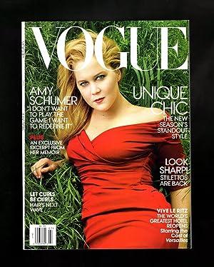 Vogue Magazine - July, 2016. Amy Schumer: Anna Wintour (Editor-in-Chief)