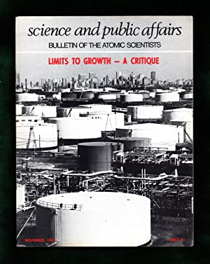 The Bulletin of the Atomic Scientists. November,: Eugene Rabinowitch (Editor