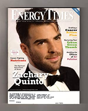 Energy Times - May, 2016. Enhancing Your Vitality Through Nutrition, Health, and Harmony. Zachary...