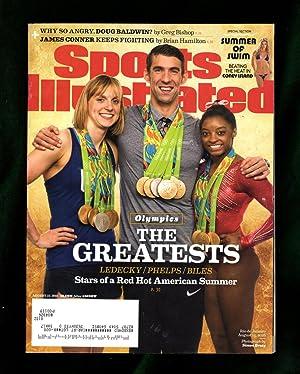 Sports Illustrated - August 22, 2016. 'Swimsuit: Paul Fichtenbaum (Executive