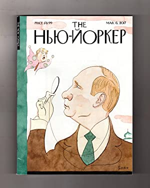 The New Yorker - March 6, 2017. Putin As