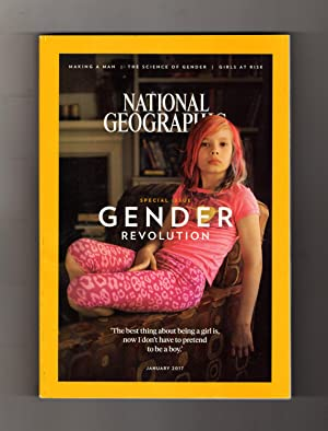2017 (Girl in PInk Subscriber Cover Version) National Geographic Magazine - January, 2017. Specia...